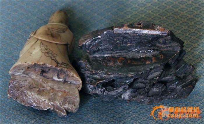 明代寿山芙蓉石送子观音(意大利回流)图6