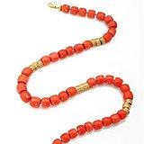 珊瑚虫-珠宝大师HENRY DUNAY设计制作的珊瑚项链