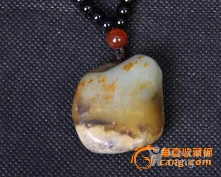 新疆和田褐皮籽料【鸳鸯戏水】-图5