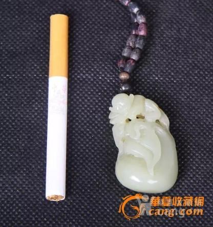 新疆黄玉籽料挂件-图2