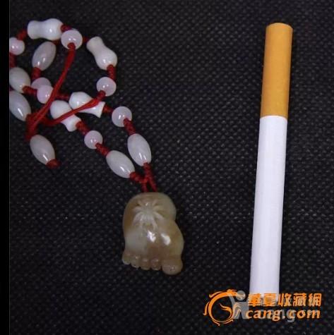 新疆和田糖羊脂玉【脚链】-图2