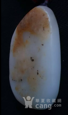 新疆和田白玉籽料把件-图2