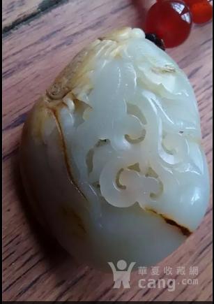 新疆和田白玉籽料把件【蝉如意】-图3