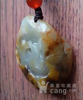 新疆和田褐皮籽料【鸳鸯戏水】-图8