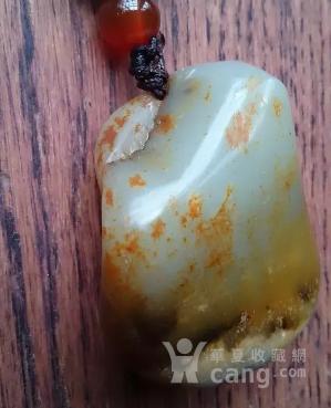 新疆和田褐皮籽料【鸳鸯戏水】-图11