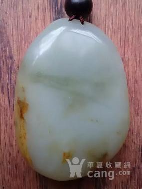 外围网 青白玉籽料【鹿】-图2
