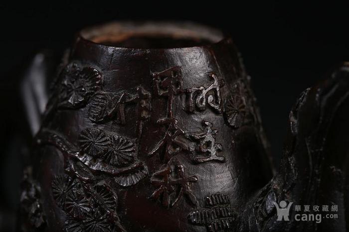 一个椰壳雕茶壶。9.3cm图11