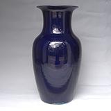 清中期 茄*紫釉 观音瓶 已鉴定