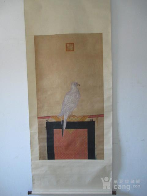郎世宁【海东青】作品图1