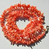 印第安河回流*几十年的粉珊瑚枝子项链(清仓了)