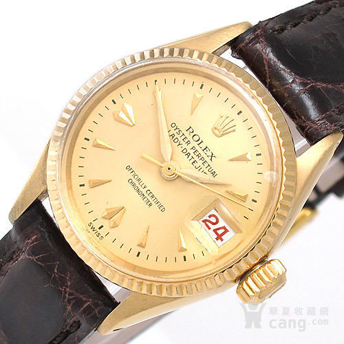 正品Rolex劳力士18K金腕表图1