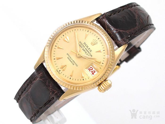 正品Rolex劳力士18K金腕表图2