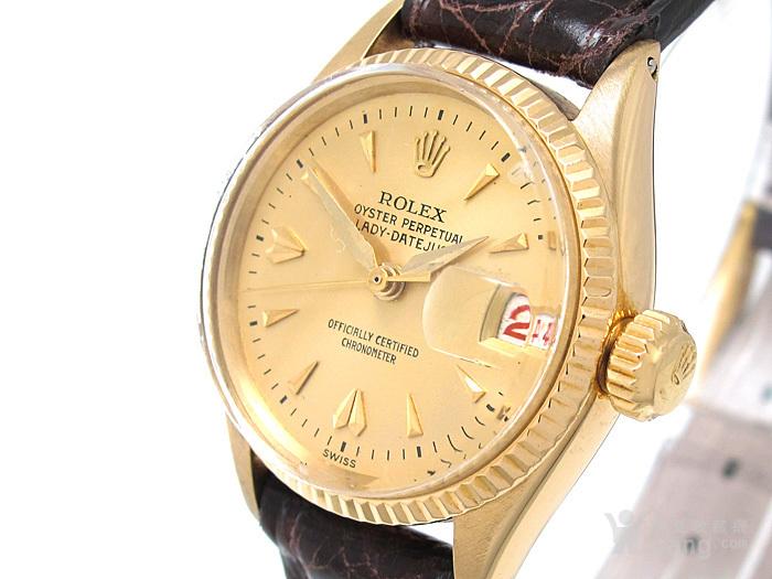 正品Rolex劳力士18K金腕表图7