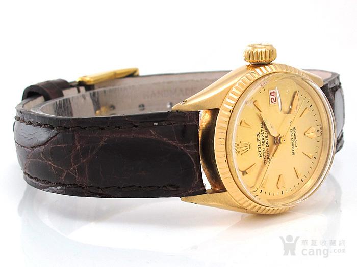 正品Rolex劳力士18K金腕表图3
