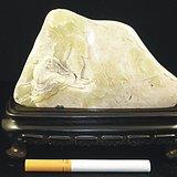 怀素书蕉(寿山花坑冻石)