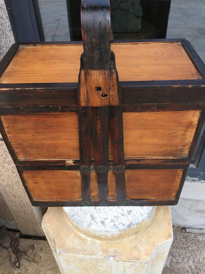 银杏木提篮一个图6