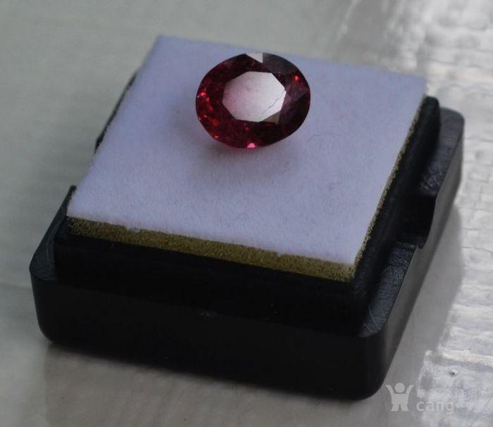 紫红色碧玺  尼日利亚纯天然紫红色碧玺3.27克拉图6