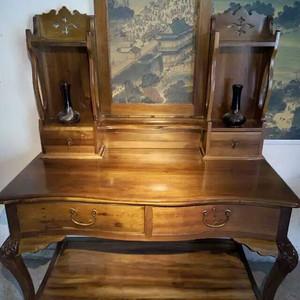金丝楠木西洋式梳妆台     明清古典金丝楠木老家具