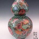 传世金丝珐琅彩葫芦瓶