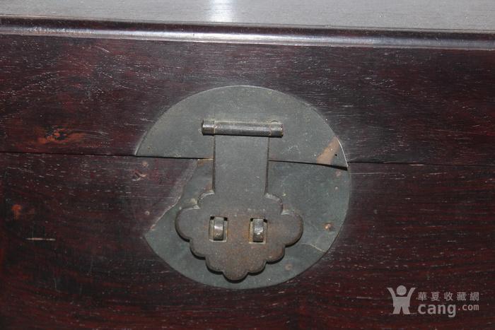 清代酸枝木箱图2