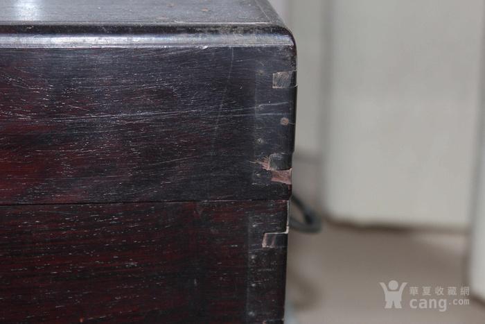 清代酸枝木箱图3