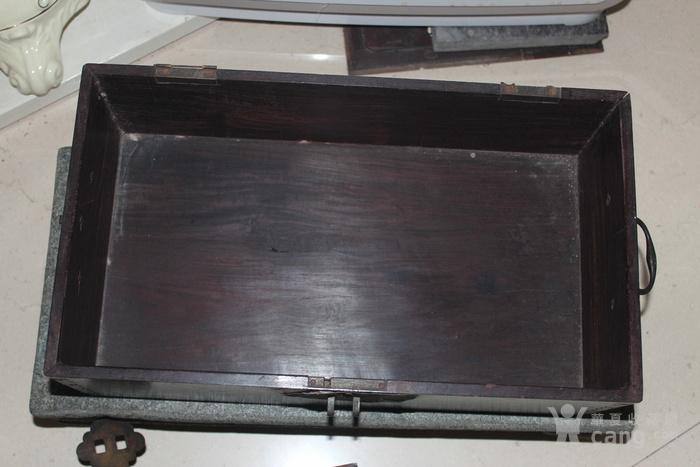 清代酸枝木箱图6