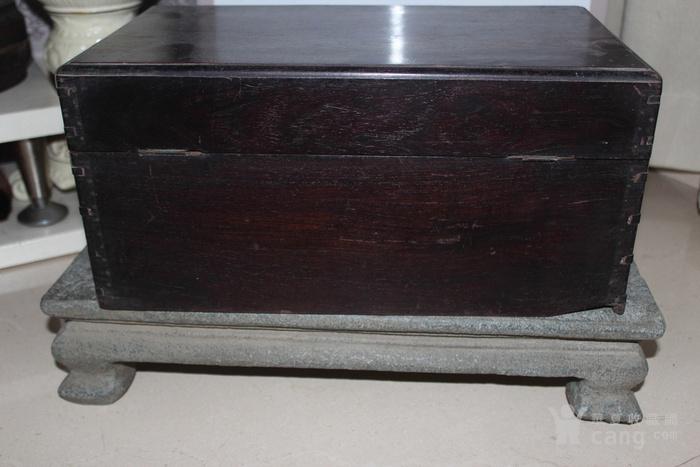 清代酸枝木箱图7