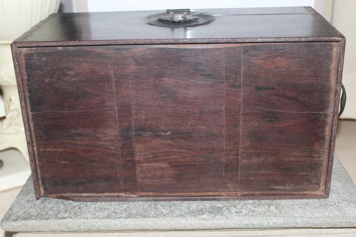 清代酸枝木箱图9