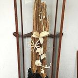 重器 加里曼丹沉香木镶珍贵材质花开富贵