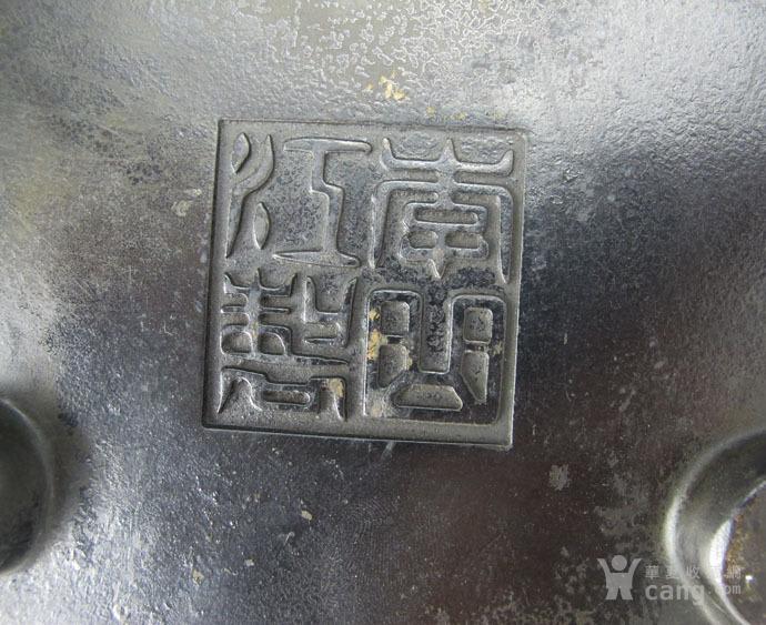 清 李曲江制梅花三足大香炉图12