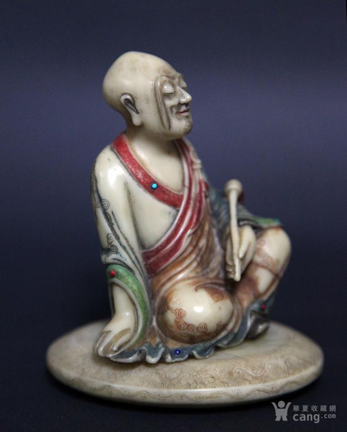 清代寿山石罗汉像图2