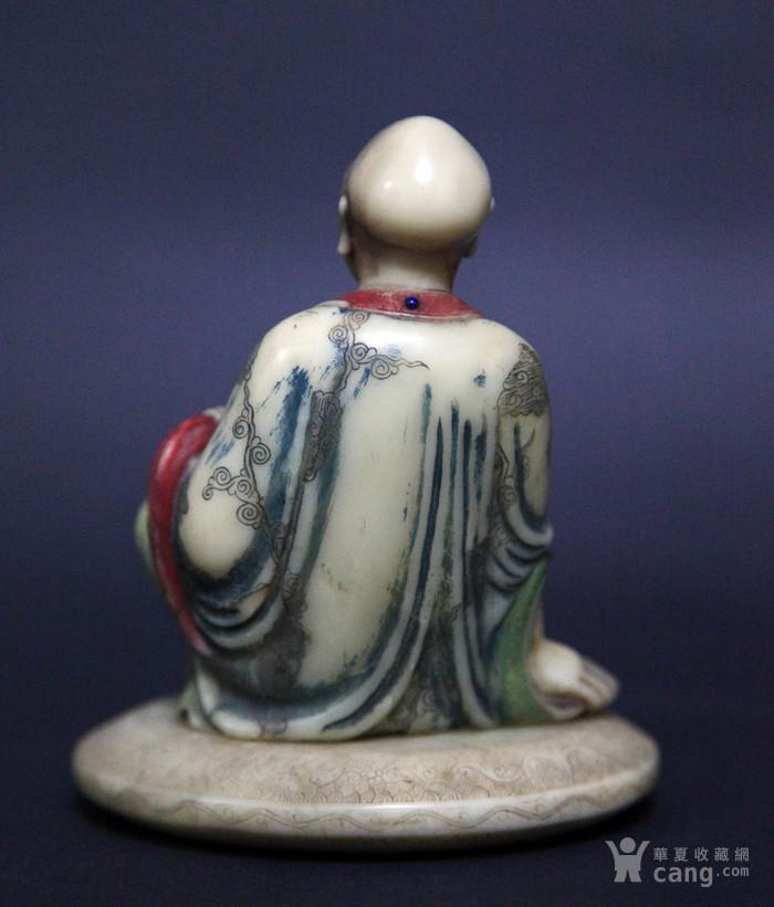 清代寿山石罗汉像图4
