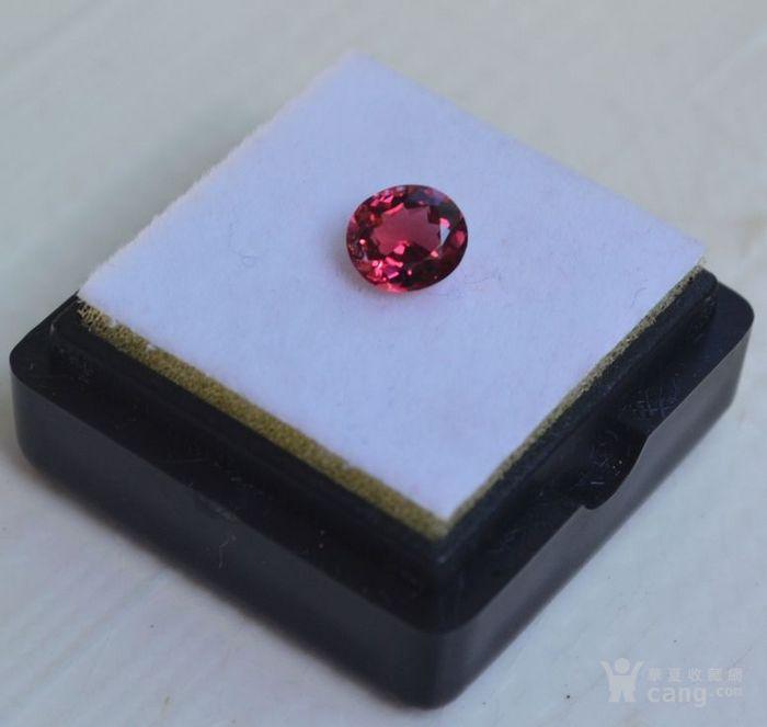 粉红色碧玺 莫桑比克纯天然粉红色碧玺0.89克拉图2