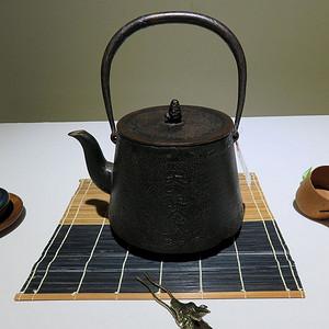 古缘商会日本老铁壶昭和二年十月海军大演习记念老铁壶