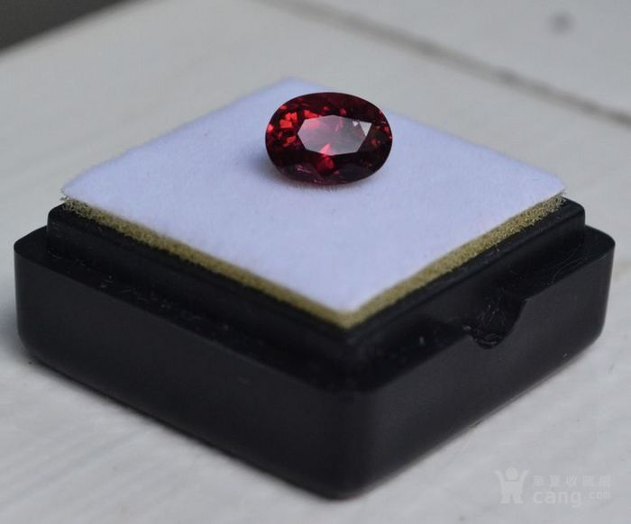 紫红色碧玺 尼日利亚纯天然紫红色碧玺1.65克拉图4