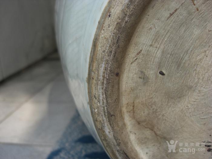 清中期 超大粉青釉缠枝宝相花太白罐 已鉴定图10
