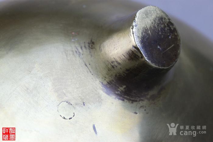 超大号山水人物亭台楼阁老铜香炉【醉墨轩】图9