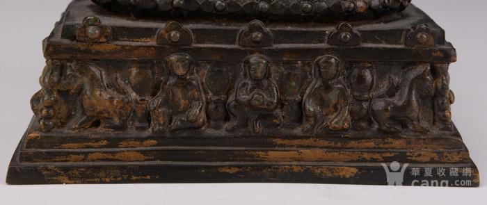 明代晚期释迦牟尼造像图5
