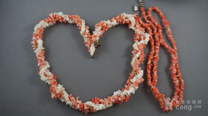 天然珊瑚项链图1