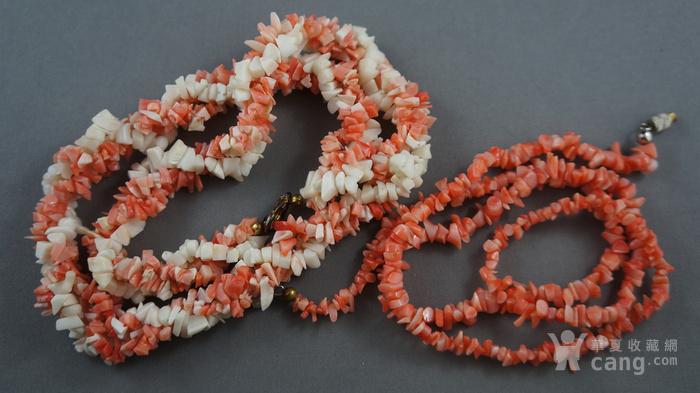 天然珊瑚项链图2