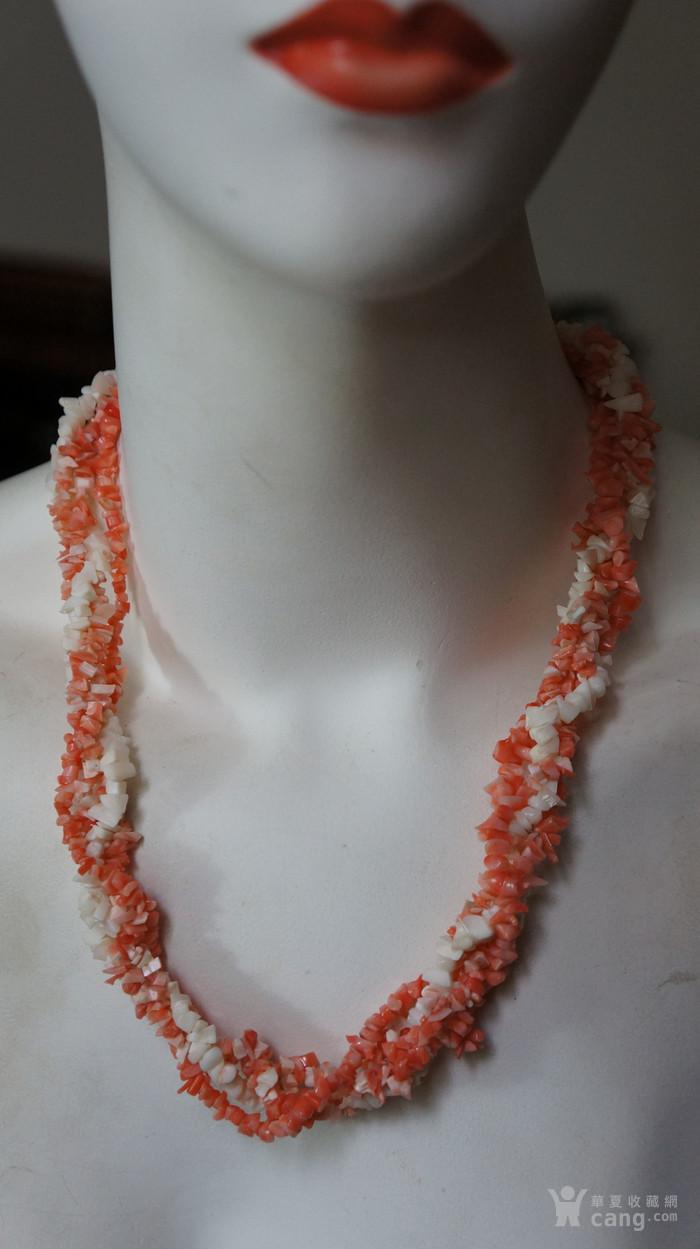 天然珊瑚项链图5