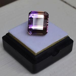 紫黄晶 9.71克拉纯天然无加热南美玻利维亚紫黄晶