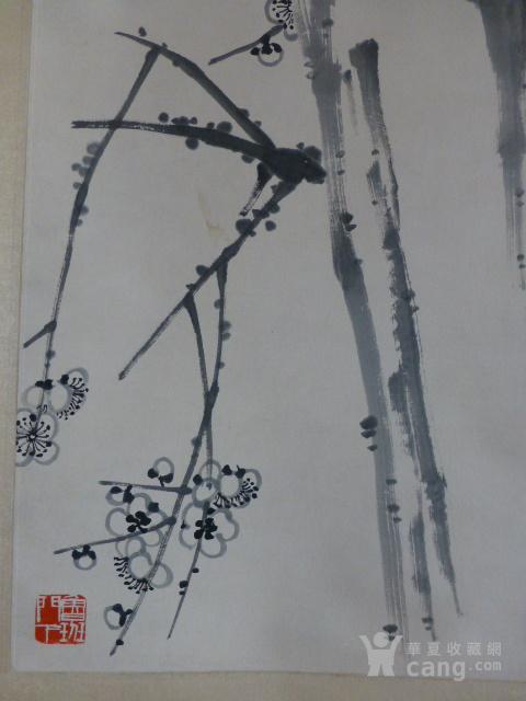 齐白石【喜鹊登枝】作品图5