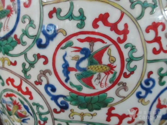朝鲜收的五彩仙鹤纹大罐图4