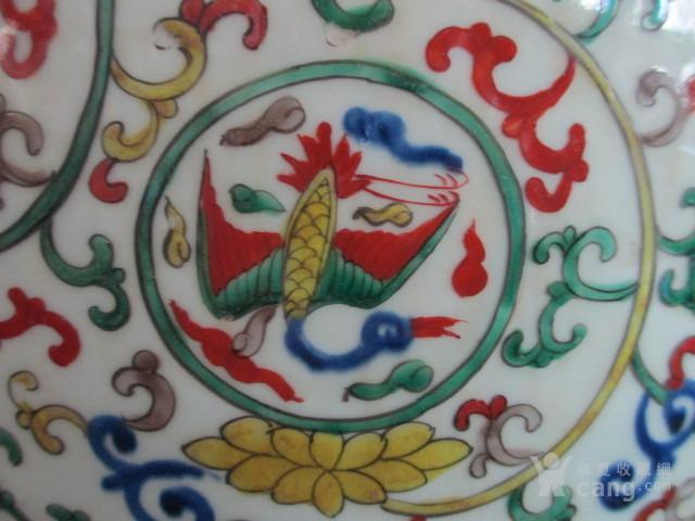 朝鲜收的五彩仙鹤纹大罐图5