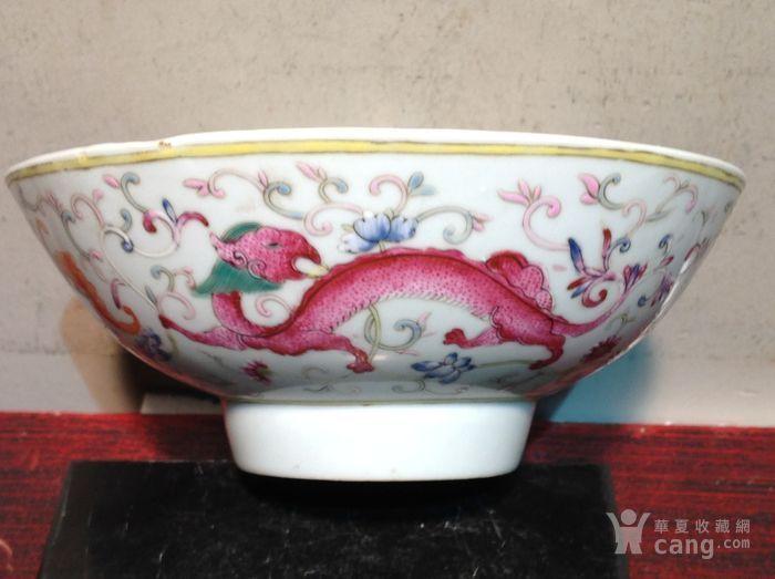 大清光緒年制 底款粉彩瓷碗 大清光緒年制 底款粉彩瓷碗價格