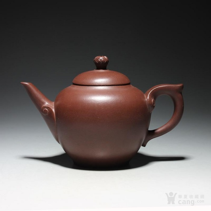 宜兴紫砂壶 早期全手工老茶壶 台湾回流 吉祥如意套装图3