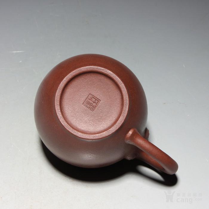宜兴紫砂壶 早期全手工老茶壶 台湾回流 吉祥如意套装图8
