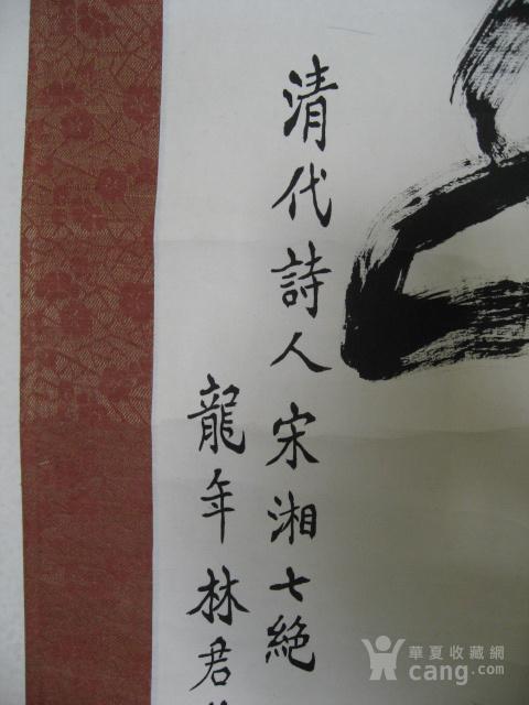 广东佛山林君选书法立轴图5