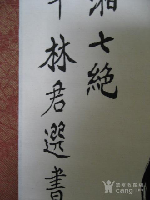 广东佛山林君选书法立轴图7